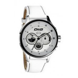 Cinturino per orologio Dolce & Gabbana DW0212 (F357000728) Pelle Bianco