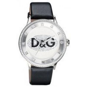 Cinturino per orologio Dolce & Gabbana DW0507 Pelle Nero