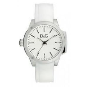 Cinturino per orologio Dolce & Gabbana DW0746 Gomma Bianco 18mm