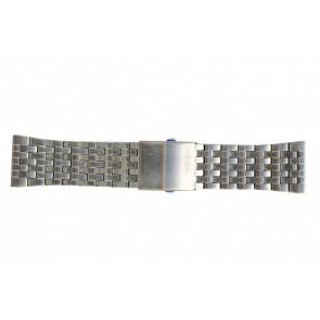 Diesel cinturino dell'orologio DZ7221 Metallo Argento 28mm