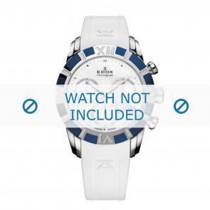 Edox cinturino dell'orologio 10405-357B-NAIN Silicone Bianco 18mm