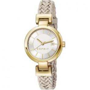 Esprit cinturino dell'orologio ES107632.009 Pelle Beige 10mm