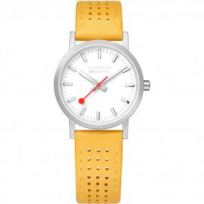 Cinturino per orologio Mondaine A658.30323.16SBD / FE3116.50Q.2 Pelle Giallo 16mm
