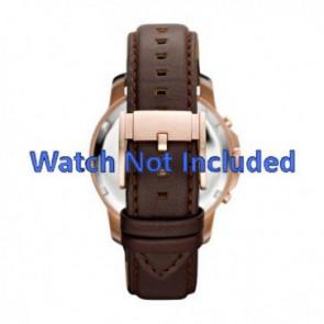 Fossil cinturino orologio FS-4648 Pelle Marrone 22mm
