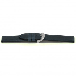 Cinturino orologio in pelle kayak, blu, 16mm EX-E629