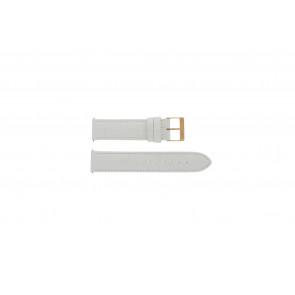 Cinturino per orologio Guess W17516L1 Pelle Bianco 20mm