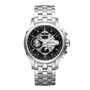 Cinturino per orologio Hamilton H001.32.696.139.01 / H605376100 Acciaio Acciaio 22mm