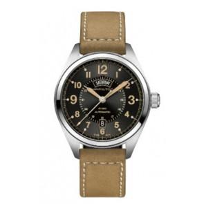 Cinturino per orologio Hamilton H001.70.505.833.01 Pelle Beige 20mm