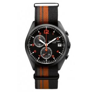 Cinturino per orologio Hamilton H76582933 Tessuto Multicolore 22mm