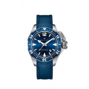 Cinturino per orologio Hamilton H77705345 Gomma Blu 20mm