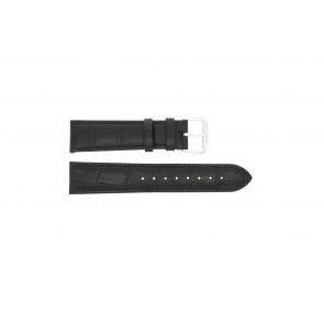 Cinturino per orologio Universale 305L.01.12 XL Pelle Nero 12mm