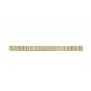 Cinturino dell'orologio HT1012 / Haka-Flex Metallo Placcato oro 14mm