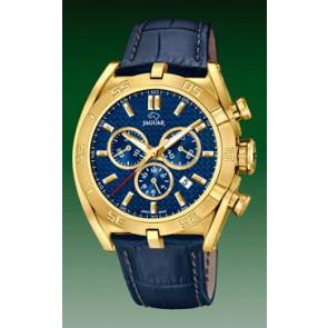 Cinturino per orologio Jaguar J858-2 Pelle Blu