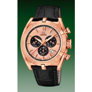 Cinturino per orologio Jaguar J859-1 / J859-3 Pelle Nero