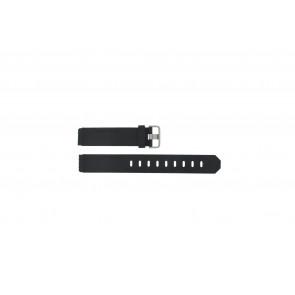 Jacob Jensen cinturino dell'orologio 750 Shine / 755 / 756 / 757 / 760 Gomma Nero 17mm