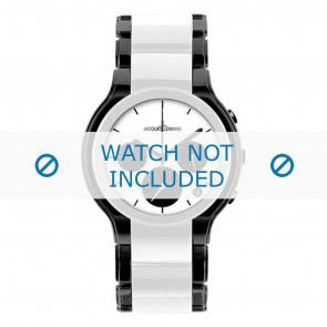 Jacques Lemans cinturino dell'orologio 1-1580E Ceramica Bi-colore