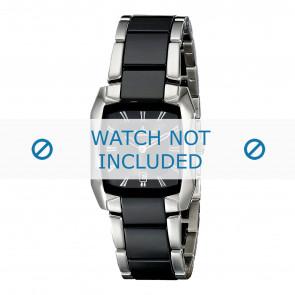 Jacques Lemans cinturino dell'orologio 1-1754A Ceramica Bi-colore