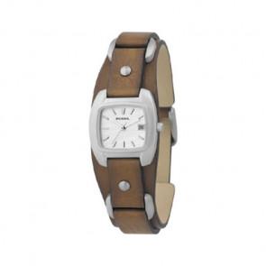 Cinturino per orologio Fossil JR8897 Pelle Marrone 12mm