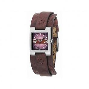 Cinturino per orologio Fossil JR9515 Pelle Marrone 12mm