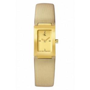 Cinturino per orologio Calvin Klein K604022453 / K0411224 Pelle Beige