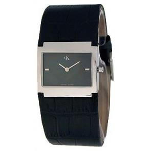 Cinturino per orologio Calvin Klein K04281.46 / K600.028.750 Pelle Nero
