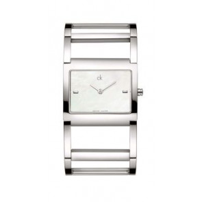 Cinturino per orologio Calvin Klein K605026210 / K0428181 Acciaio inossidabile Acciaio