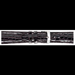Morellato cinturino dell'orologio Amadeus XL G.Croc Gl K0518052032CR22 / PMK032AMADEU22 Pelle di coccodrillo Marrone scuro 22mm + cuciture di default