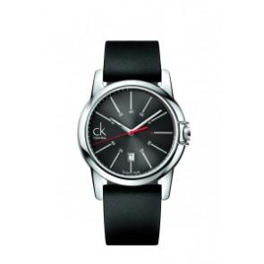 Cinturino per orologio Calvin Klein K0A215 (K604.000.005) Gomma Nero