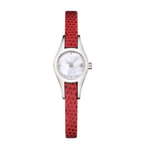 Cinturino per orologio Calvin Klein K2723100 Pelle Rosso