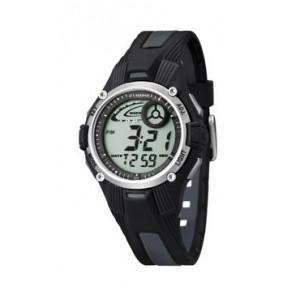 Cinturino per orologio Calypso K5558/6 Plastica Nero
