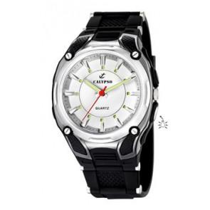 Cinturino per orologio Calypso K5560-1 Gomma Nero