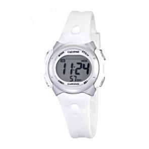 Cinturino per orologio Calypso K5609-1 Gomma Bianco
