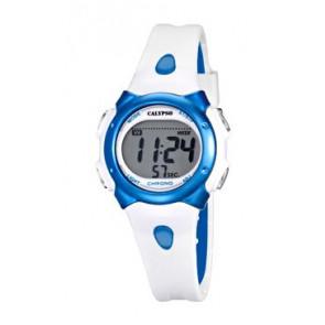 Cinturino per orologio Calypso K5609-4 Gomma Bianco