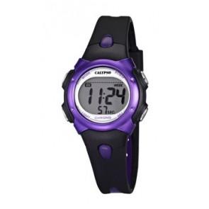 Cinturino per orologio Calypso K5609-5 Gomma Nero
