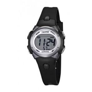Cinturino per orologio Calypso K5609-6 Gomma Nero