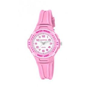 Cinturino per orologio Calypso K6070-1 Gomma Rosa