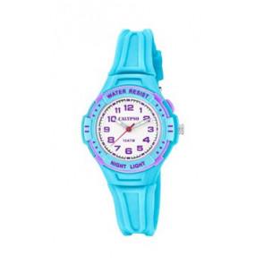 Cinturino per orologio Calypso K6070-2 Gomma Blu chiaro