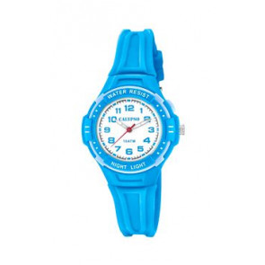 Cinturino per orologio Calypso K6070-3 Gomma Blu