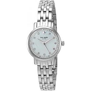 Kate Spade New York cinturino dell'orologio KSW1241 / MINI MONTEREY Metallo Argento