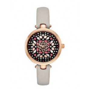 Cinturino per orologio Kate Spade New York KSW1260 Pelle Taupe 5mm