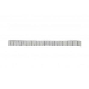 Lasita cinturino dell'orologio Fixoflex LA-12 Metallo Argento 12mm