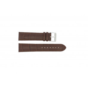 Cinturino dell'orologio 305.02.12 XL  Pelle Marrone 12mm + cuciture marrone