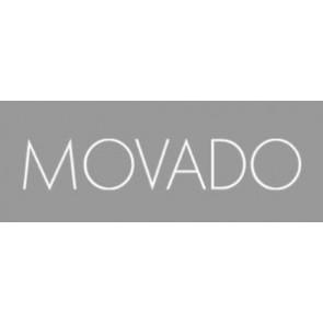 Cinturino per orologio Movado 84.G4.875.3801676 / CAL-18/14-WHI / Loc VIM-81 Pelle Bianco crema / Beige 15mm