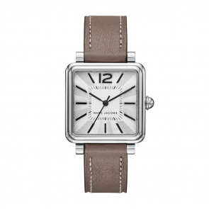 Cinturino per orologio Marc by Marc Jacobs MJ1518 Pelle Taupe 16mm