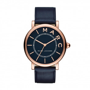 Cinturino per orologio Marc by Marc Jacobs MJ1534 Pelle Blu 18mm