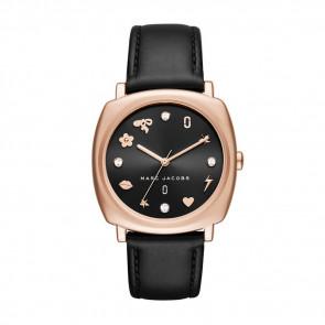 Cinturino per orologio Marc by Marc Jacobs MJ1565 Pelle Nero 18mm