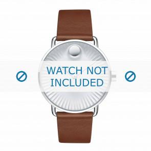 Movado cinturino dell'orologio 3680038 Pelle Cognac 20mm