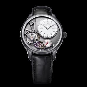 Cinturino per orologio Maurice Lacroix Gravity ML550-000256 Pelle di coccodrillo Nero