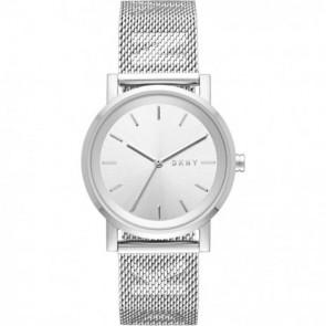 Cinturino per orologio DKNY NY2620 Acciaio Acciaio 18mm