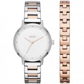 Cinturino per orologio DKNY NY2643 Acciaio Bi-colore 14mm